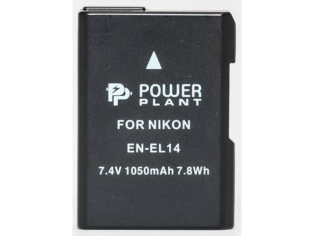 бу Аккумулятор к фото/видео PowerPlant Nikon EN-EL14 Chip (D3100, D3200, D5100) (DV00DV1290) в Києві