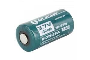 Аккумулятор Olight RCR123 (16340) Li-Ion 650 mAh (ORB2-163P06)