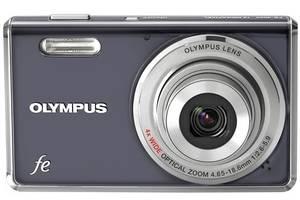 Нові Цифрові фотоапарати Olympus FE-4000 Grey