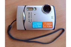 б/в Цифрові фотоапарати Olympus mju 850 SW