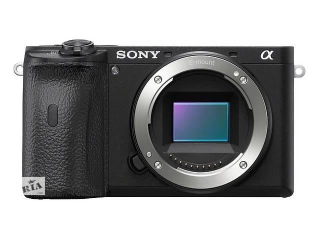 Фотоаппарат SONY Alpha a6600 body Black (ILCE6600B.CEC)- объявление о продаже   в Украине