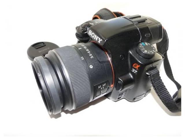 купить бу Фотоаппарат Sony Alpha SLT-A37. Kit 18-55mm + сумка в Николаеве