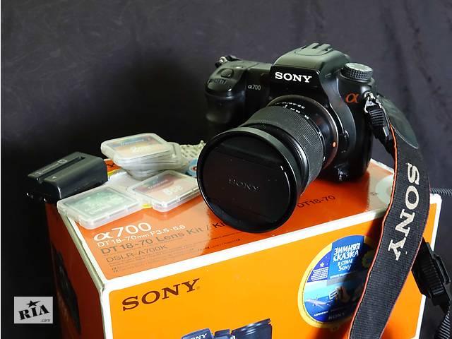 Фотоаппарат SONY DSLR-A700K(Япония)- объявление о продаже