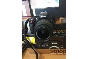 б/у Зеркальные фотоаппараты Nikon D5100 Kit (18-55 VR)