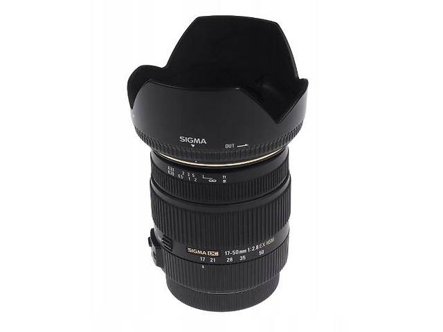 бу Объектив Sigma 17-50 mm f/2,8-EX DC for Nikon в Львові