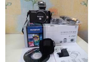 б/у Компактные фотокамеры Olympus Pen Е-РМ1 Double Zoom Kit