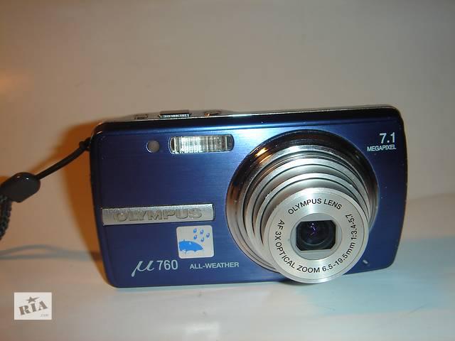 бу Продам фотоаппарат Olympus µ-760. нерабочий. в Мариуполе