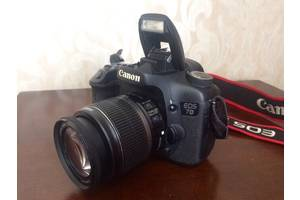 б/у Зеркальные фотоаппараты Canon EOS 7D Kit (15-85 IS)
