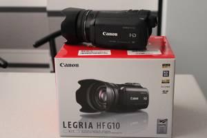 б/в Професійні відеокамери Canon Legria HF G10