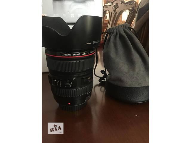 Canon EF 24-105 L IS USM- объявление о продаже  в Одессе