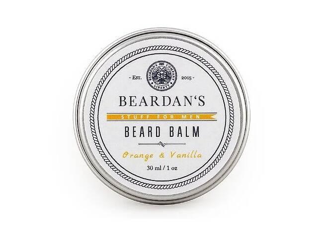 купить бу Бальзам для бороды Beardans, Orange and Vanilla, 30 мл R152311 в Одессе