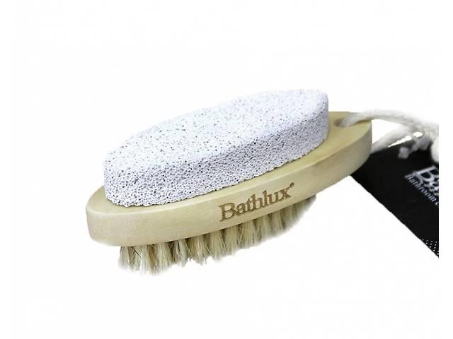 продам Щетка Bathlux банная двусторонняя с натуральным ворсом и пемзой 9.7х4 см 90520 R132113 бу в Одессе