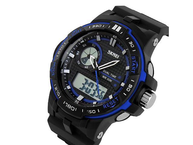 купить бу Часы мужские спортивные SKMEI 1070 Blue в Львове