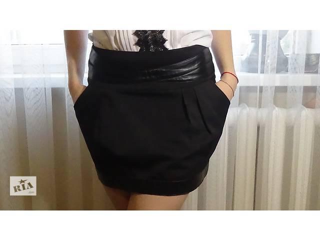 купить бу  Черная мини-юбка в Харькове