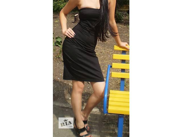 бу  черное платье узкое классика в Харькове