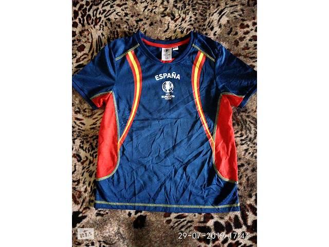 Фирменная функциональная футболка Евро 2016 Франция спортивная 146-152см  Отличная новая футболка для спорта, отдыха- объявление о продаже  в Мариуполе