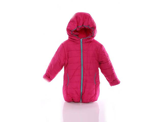 бу Куртка Евро для девочки малиновая с бирюзой в Львове