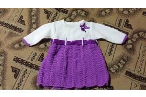 Новые Детские вязаные платья