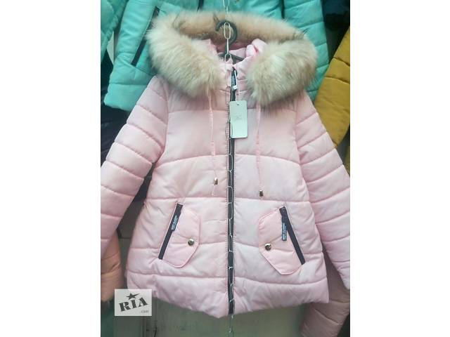 купить бу Зимова куртка для дівчинки 547b4ffbffeff