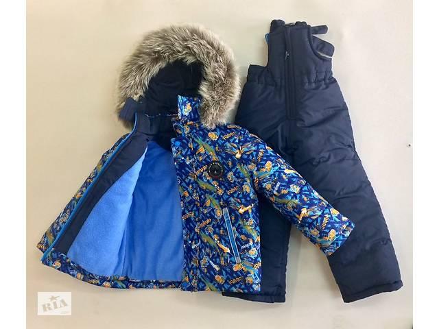 продам Зимняя курточка и полукомбинезон на рост 92,98,104,110 бу в Харькове