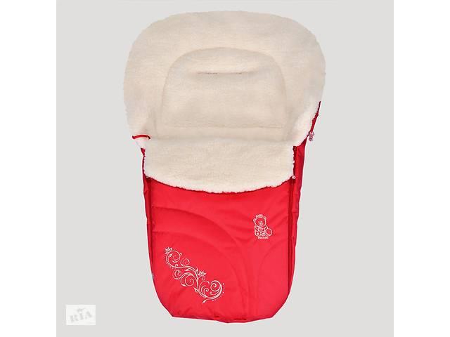 купить бу Зимний конверт Baby Breeze 0306 (красный) в Дубні