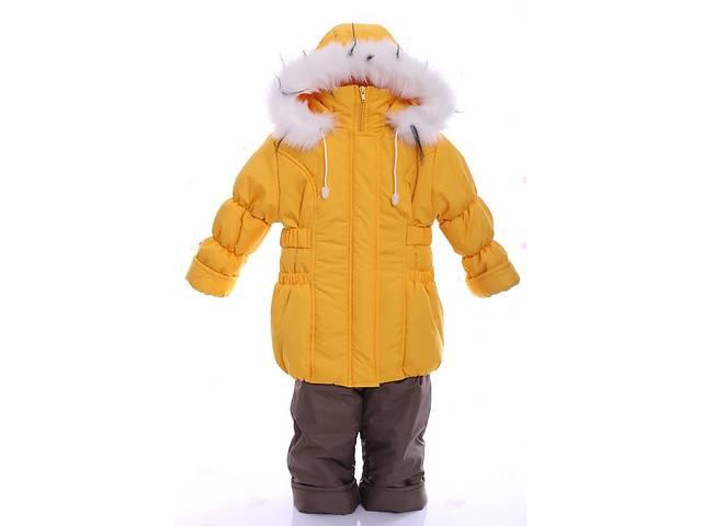 купить бу Зимний костюм для девочки Классика желтый в Одессе