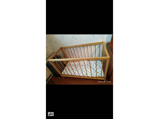 купить бу Детская кроватка с матрасом в Херсоне