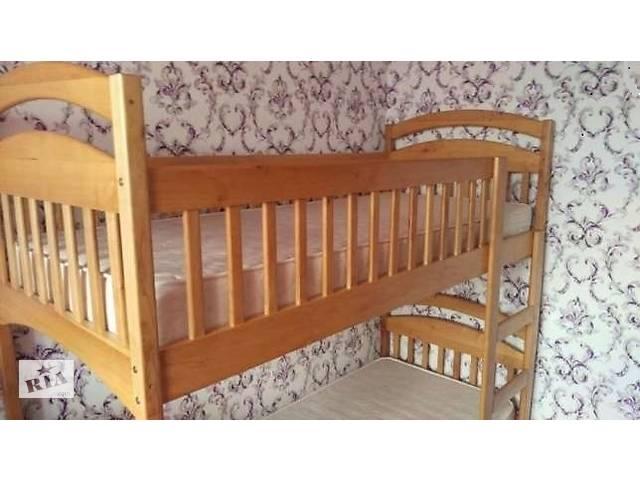 Двухьярусная кровать Карина с ящиками и матрасами.- объявление о продаже  в Василькове