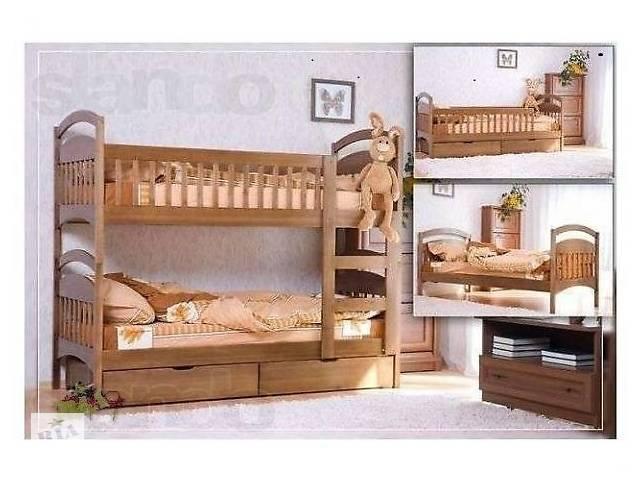 бу Двухъярусная кровать с ящиками в комплекте. в Киеве