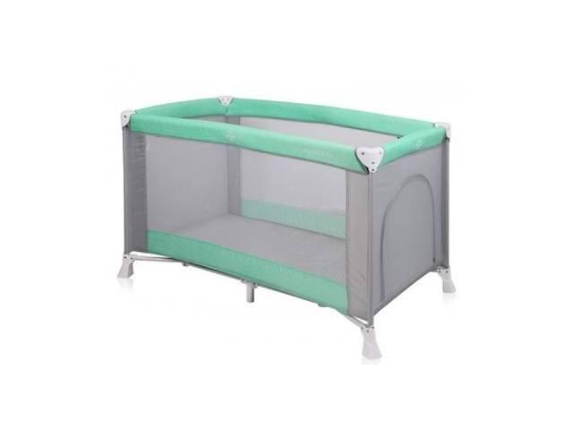 продам Детский манеж Bertoni/Lorelli VERONA 1L Green&grey (20333) бу в Києві
