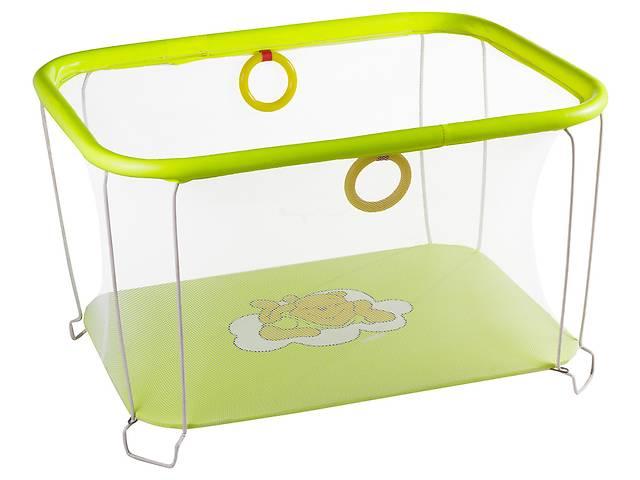 купить бу Манеж Qvatro Солнышко-02 мелкая сетка  желтый (winnie pooh) в Одессе