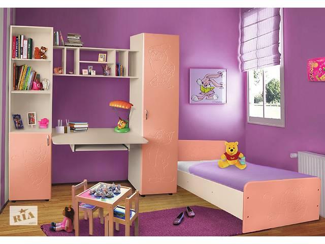 купить бу Мебель для детской комнаты Джерри (МДФ). Стенка и кровать в детскую в Киеве