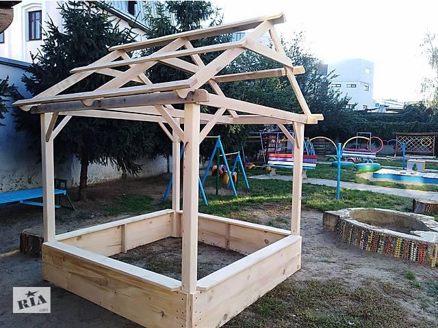бу Песочница с крышей в детский сад в Виннице