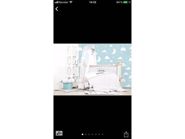 продам Продам набор IDEIA в детскую кроватку + держатель для балдахина в подарок! бу в Мелитополе