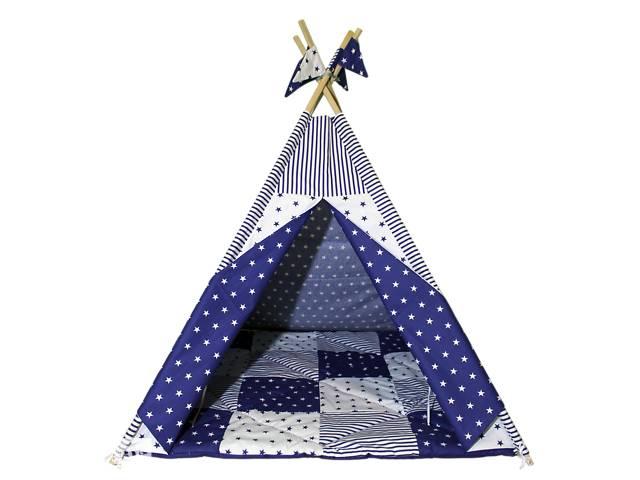 продам Вигвам Хатка комплект Звездопад со стеганным ковриком бу в Одессе