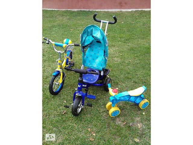 бу 3 в 1.Три детские транспортные средства по цене Одного. в Львове
