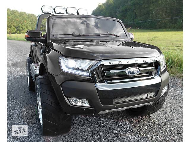 бу Детский электромобиль Ford Ranger 4х4, 2 акумулятора и 4 мотора в Львове