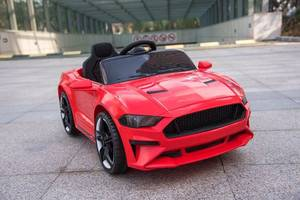 Детский электромобиль музыкальный T-7625 EVA RED на Bluetooth 2.4G Р/У 12V4.5AH мотор 2*15W 110*62*4