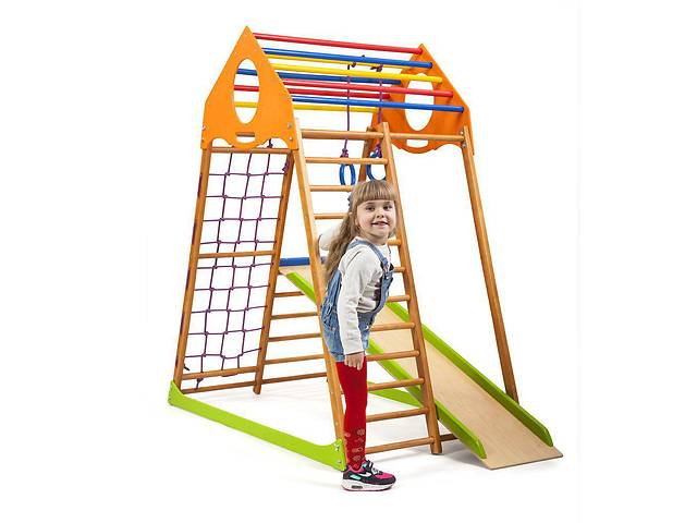 Детский спортивный комплекс для дома KindWood  SportBaby- объявление о продаже  в Одессе