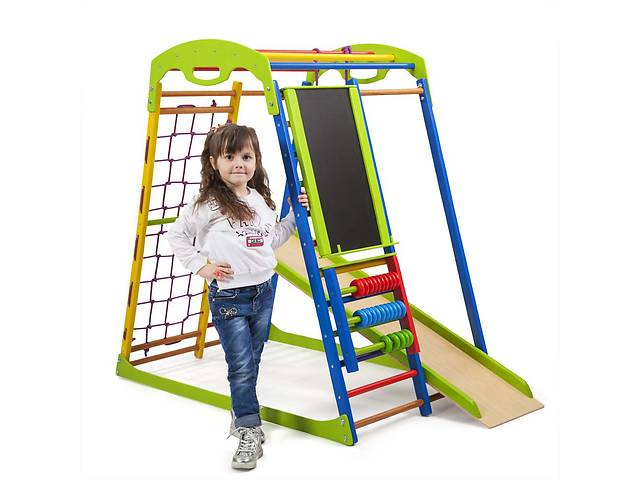 продам Детский спортивный комплекс для дома SportWood  Plus SportBaby бу в Одессе