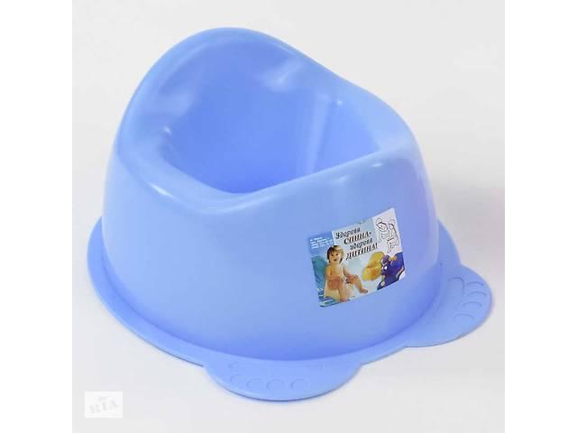 """продам гр Горщик """"Панда"""" (10) колір блакитний """"K-PLAST"""" бу в Одесі"""
