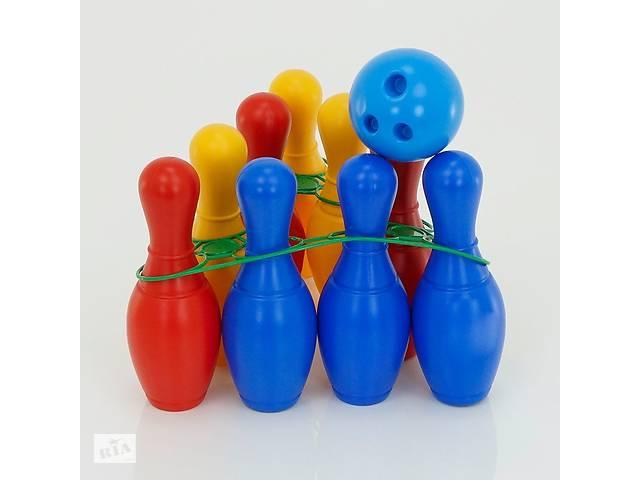 купить бу Игровой набор боулинг Colorplast Радуга R180158 в Києві