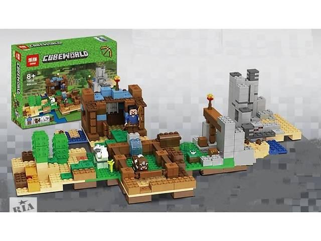 "продам Конструктор Minecraft Lepin 18030 ""Хижина на острове"" (аналог Lego Майнкрафт, Minecraft), 664 детали бу в Дубно"
