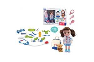 Набор доктора с куклой LB399-4C