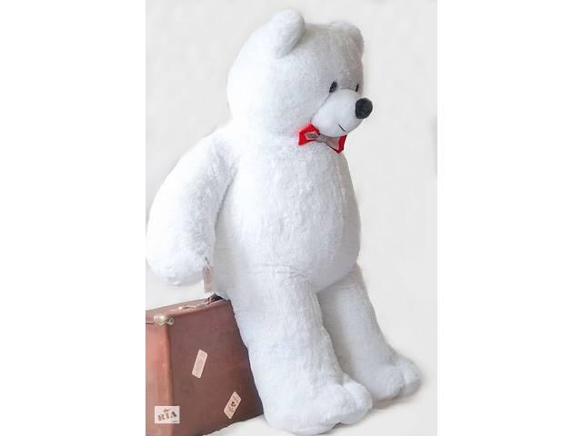бу Плюшевый мишка белый 160 см в Дубно (Ровенской обл.)