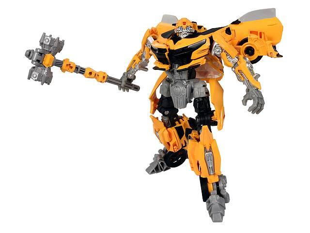 бу Робот-трансформер, Takara Tomy, Бамблби боевой молот, 14 см - Transformers, Bumblebee, War Hummer в Киеве