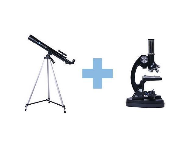 купить бу Телескоп и микроскоп набор в Львові