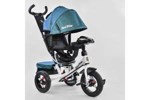 Велосипед Best Trike 7700 В - 6980 поворотное сиденье, надувные колеса, пульт включения света и звука