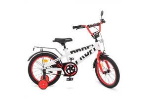 """Велосипед двухколесный Profi Flash 18"""" белый"""
