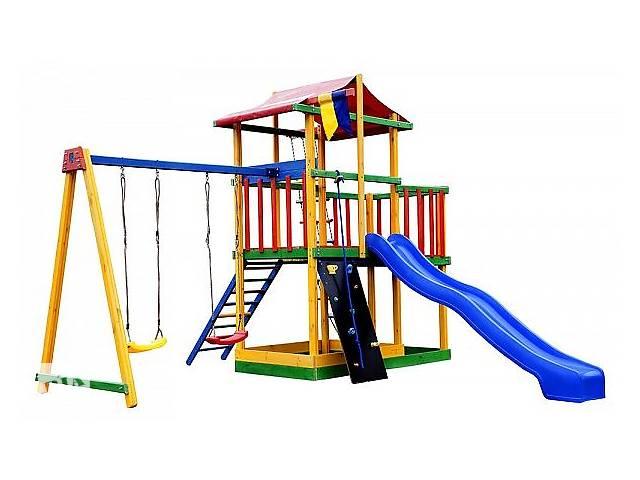 Игровой комплекс для улицы SportBaby Babyland-11